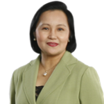 Ms. Cecilia Borromeo (President and CEO of Land Bank of the Philippines)