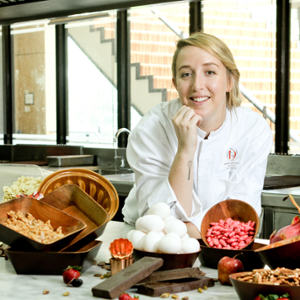 Chef Laetitia Moreau (Executive Pastry Chef at Ducasse Education Philippines)
