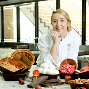 Chef Laetitia Moreau (Executive Pastry Chef, Ducasse Education Philippines)