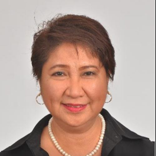 Usec. Rosemarie Edillon (Undersecretary for Policy and Planning at National Economic and Development Authorirty)
